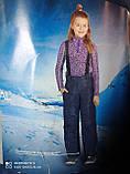 Детский подростковый полукомбинезон, термо штаны Crivit Sport 146\152 рост, фото 6