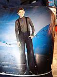Детский подростковый полукомбинезон, термо штаны Crivit Sport 146\152 рост, фото 7