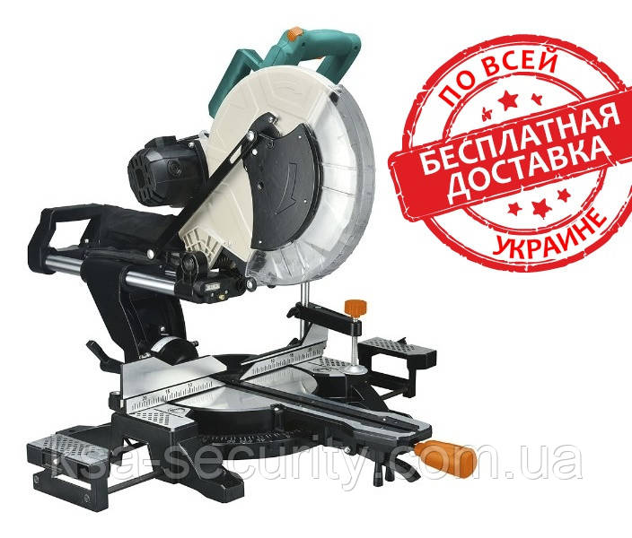 Пила торцовочная с протяжкой, ременная, 2200 Вт, 305 мм Sturm MS55305BL