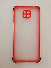 Чохол для Xiaomi Redmi Note 9s/Pro/Max Armor Frame Red