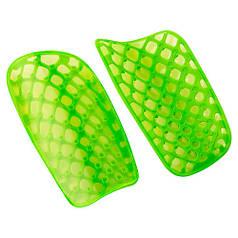 Щитки футбольные зеленые 16см