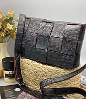 Женский клатч 099 черный женские клатчи, женские сумки купить оптом в Украине, фото 1