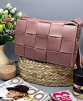Женский клатч 099 пудра женские клатчи, женские сумки купить оптом в Украине, фото 1