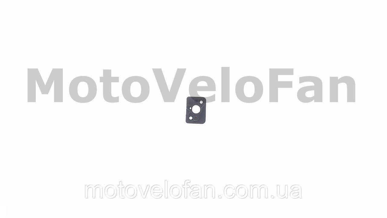Патрубок карбюратора (коллектор) мотокосы   1E40F, 1E44F   (текстолитовый)   WOODMAN   (mod.A)