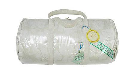 Ковдра пухова Экопух 172х205см, 100% пуху, касетне (крем), 1545, фото 2