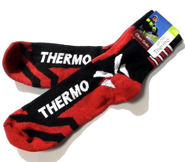 Носки мужские теплые Sport Thermo размер 41-45 красные