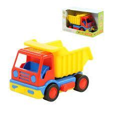 Базик, автомобиль-самосвал (в коробке) 37602