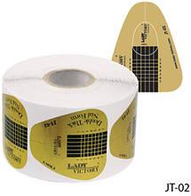 Одноразовые формы «Двойная толщина» (бумажные, на клейкой основе) Lady Victory LDV JT-02 /5-3