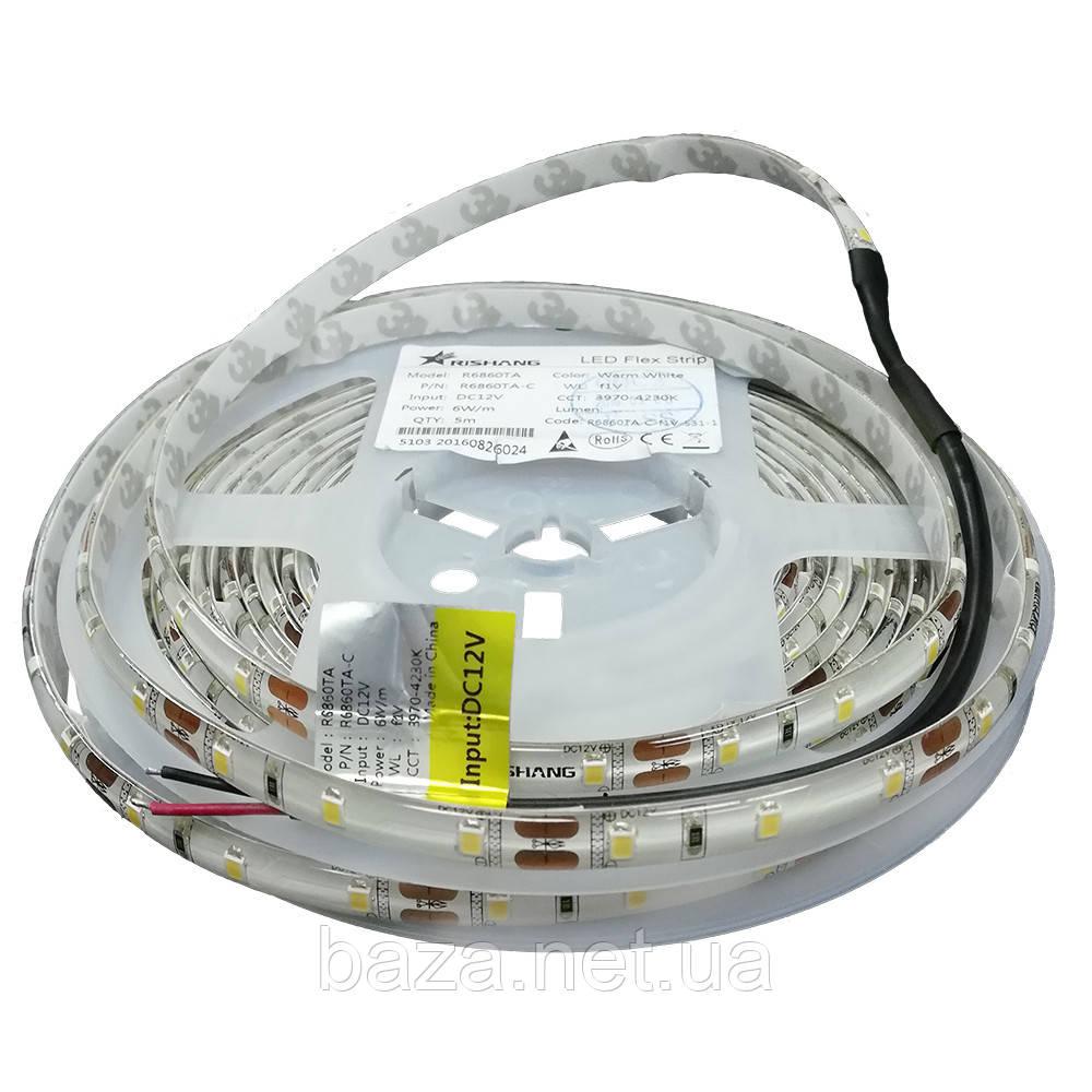 Светодиодная лента 2835-60-IP65-NW-10-12 R6860TA-C (12784)