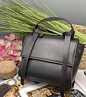 Женский клатч 037 черный с красным женские клатчи, женские сумки купить оптом в Украине