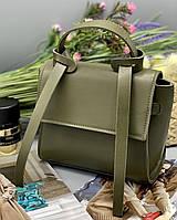 Женский клатч 037 зеленый женские клатчи, женские сумки купить оптом в Украине
