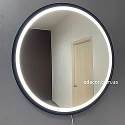 Дзеркало у ванну c підсвічуванням Round led