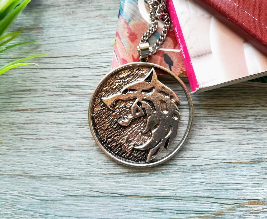 Кулон подвеска  медальон Ведьмака Witcher Вариант 4