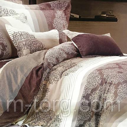 """""""узоры"""" постельное белье Elway Premium евро размер 200*220 см,ткань сатин 100% хлопок, фото 2"""