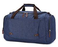 Дорожная сумка текстильная Vintage 20075 Синяя (Pro_24)