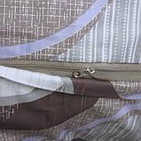 Постільна білизна сатин люкс з компаньйоном S341 Євро максі, фото 5
