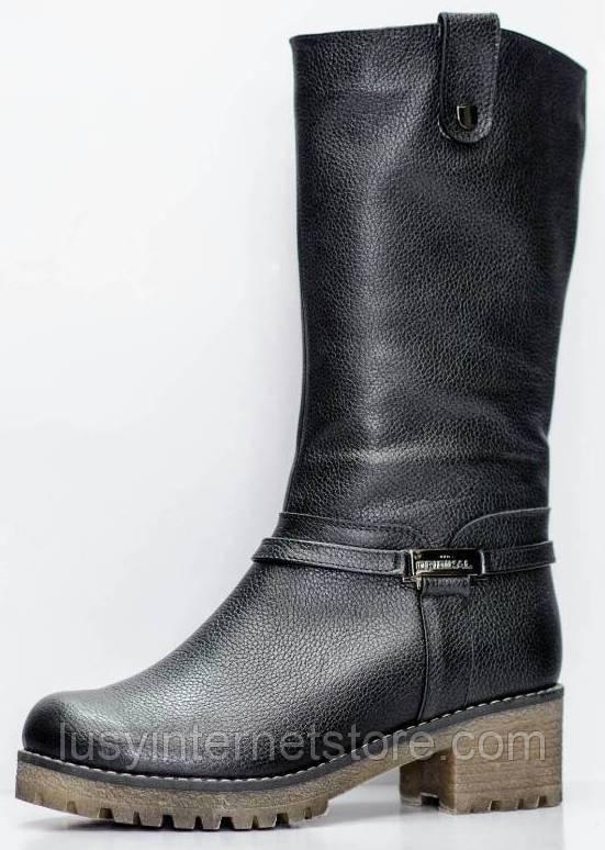 Сапоги на широкую ногу женские зимние большого размера от производителя модель РМ7435