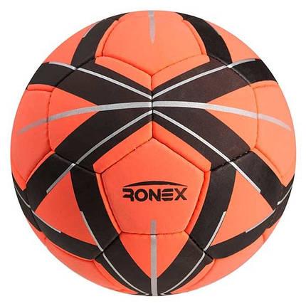 Мяч футбольный Cordly Ronex (MLT), оранжевый, фото 2