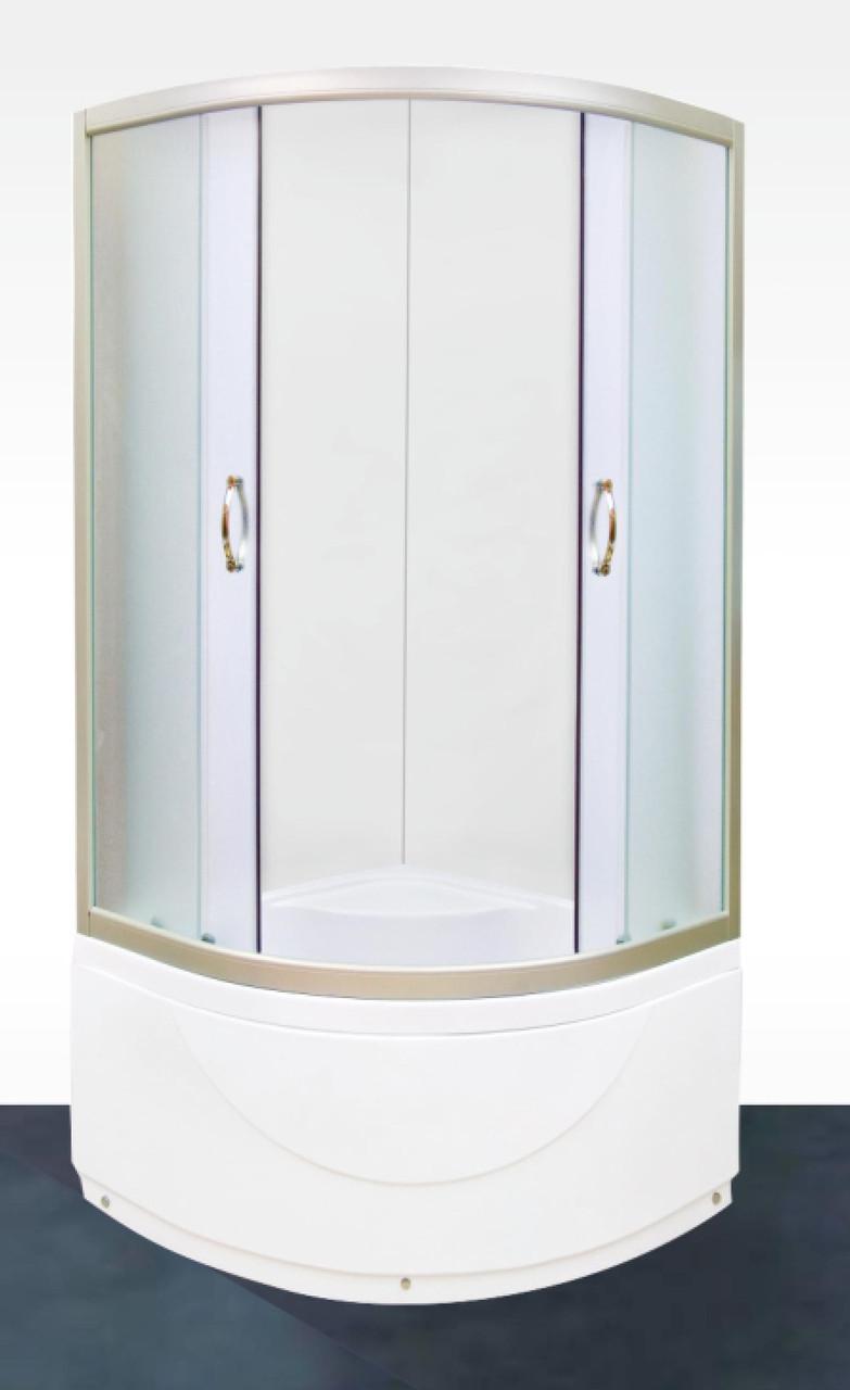Душевая кабина Serena EW-42300M  900х900х1960 с глубоким поддоном