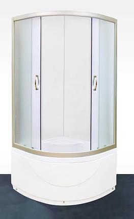 Душевая кабина Serena EW-42300M  900х900х1960 с глубоким поддоном, фото 2