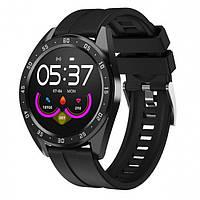 Годинник фітнес-трекер UWatch Smart Watch X10 Fitness з пульсометром Чорний, фото 1