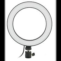 Кольцевая LED лампа 20 см селфи кольцо для блогера, фото 1