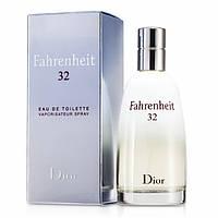 Мужские духи Christian Dior Fahrenheit 32 100 ml Туалетная вода (Мужские духи Кристиан Диор Фаренгейт 32)