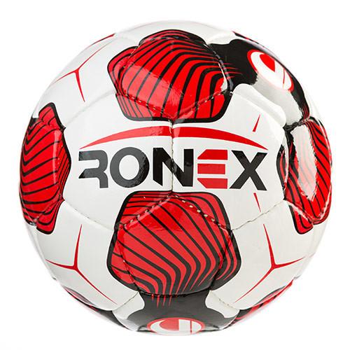 Мяч футбольный DXN Ronex (UHL), красно-белый