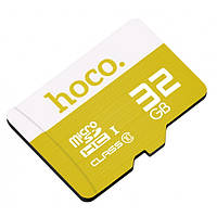 Карта пам'яті Hoco Micro SDHS 32GB Жовта, фото 1