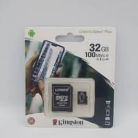 Карта памяти Kingston 32GB microSDHC class 10 UHS-I A1 (R-100MB/s) Canvas, фото 1