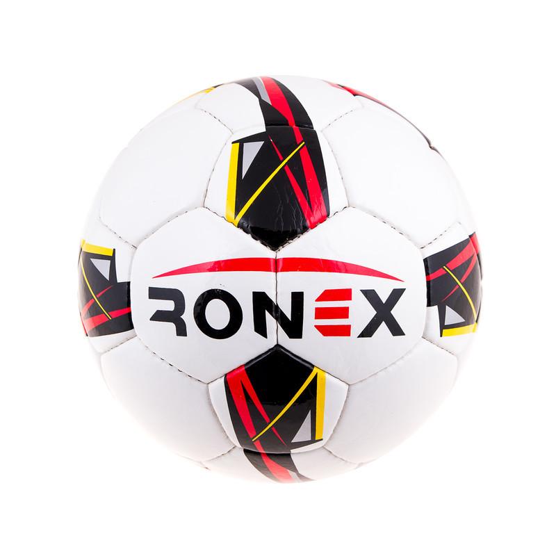 М'яч футбольний DXN Ronex(JM), біло/червоний