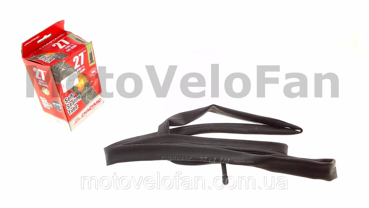 Камера (велосипедная)   27 * 1 1/4 (700 * 28/35C)   (A/V BR Self sealing АНТИПРОКОЛ ГЕЛЬ США)   Chao Yang-Top Brand   (#LTK)