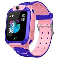 Умные Smart часы для детей с GPS трекером Smart Baby Watch S12 Розовые, фото 1