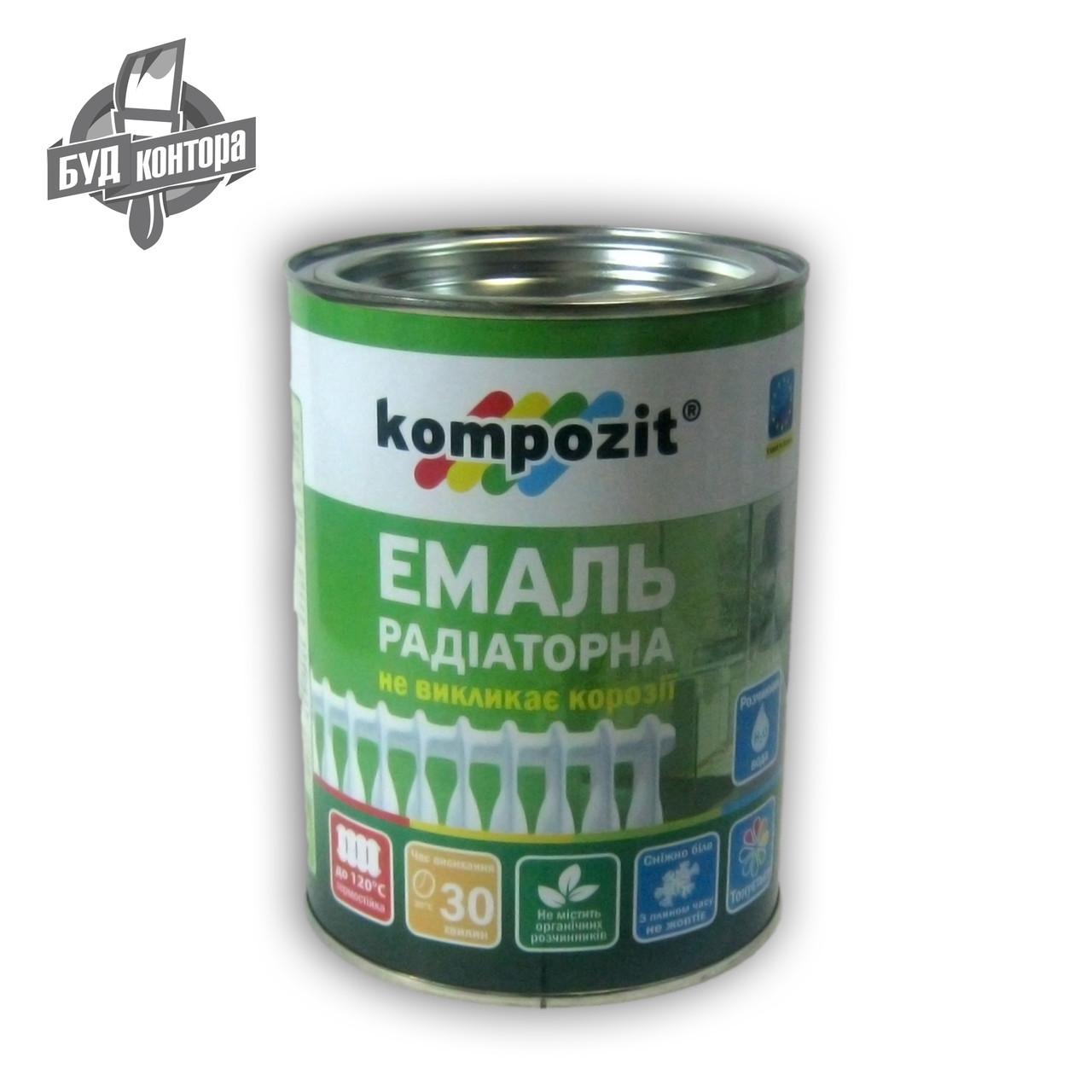 """Емаль """"Композит"""" акрилова радіаторна"""
