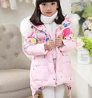 Зимняя куртка на девочку Д 0997-И