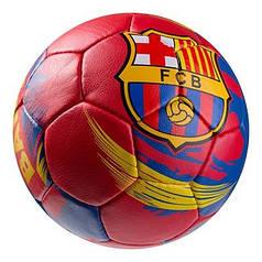Мяч футбольный Grippy G-14 FC Barcа 2, красный/синий