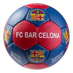 Мяч футбольный Grippy G-14 FC Barcа 4, синий/красный