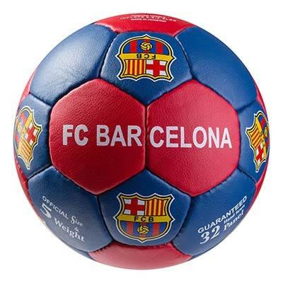 Мяч футбольный Grippy G-14 FC Barcа 4, синий/красный, фото 2