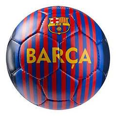 Мяч футбольный Grippy G-14 FC Barcа 6, синий/красный