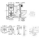 Комплект Grohe инсталляция Rapid SL 38772001 + набор для гигиенического душа со смесителем BauClassic 111048, фото 2