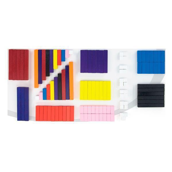 Обучающий набор Viga Toys Счетные палочки Кюизенера, 116 шт. (51765)
