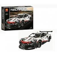 """Конструктор для мальчика гоночная машина Bela 11171 """"Porsche 911 RSR"""", 1580 деталей 11/46.8"""