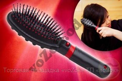 Расческа-вибромассажер массажная расческа Massage Hair Brush RM 709, фото 1