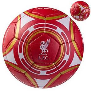 Мяч футбольный Grippy G-14 Liverpool, красный, фото 2