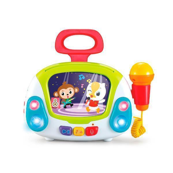 Игрушка музыкальная Hola Toys Караоке (3138)