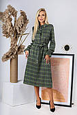 Повседневное женское платье с карманами
