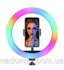 Кольцевая лампа RGB-260 26 см световое кольцо для селфи, фото 3