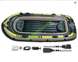 Надувная лодка Intex 68351 Seahawk 4