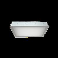 Встраиваемый растровый светильник для офиса ЛВО 4x18W OPL/R