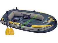 Надувная лодка Intex 68347 Seahawk 200